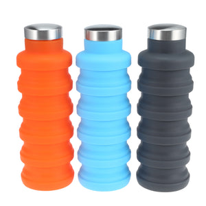 WEEKLY DEAL - Portable Silicone Water Bottle Retractable Folding