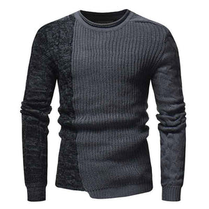 WEEKLY DEAL - Patchwork Wool Crew Sweater