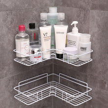 WEEKLY DEAL - Bathroom kitchen Punch Corner Frame Shower Shelf