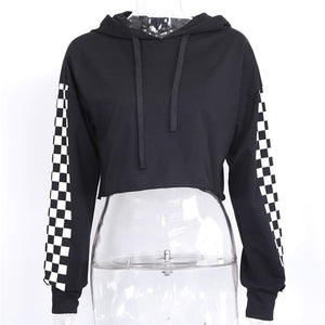 WEEKLY DEAL - SUMMER GIRL Active Cropped Hoodie