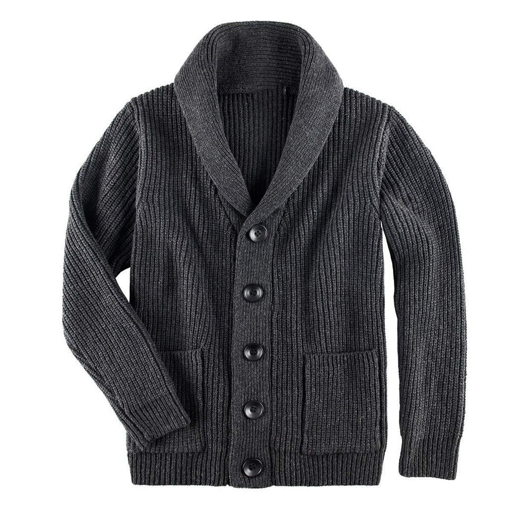WEEKLY DEAL - Button Placket Cardigan Sweater Men