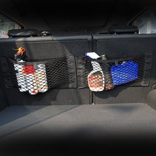 WEEKLY DEAL - Car Rear Seat Storage Bag Trunk Mesh Auto Organizer