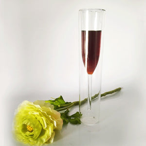 WEEKLY DEAL - Champagne Glass Double Wall Glasses Flutes