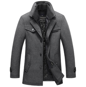 WEEKLY DEAL - Men's Thompson Double Lined Wool Pea Coat