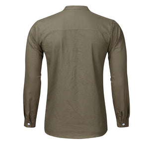 WEEKLY DEAL - BASIC Island Mandarin Shirt