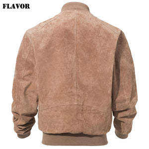 WEEKLY DEAL - FLAVOR Classic Pig Skin Bomber Jacket