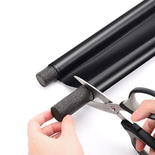 WEEKLY DEAL - Foldable Under Door Draft Stopper Washable Leather Door Seal