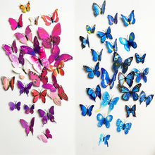 WEEKLY DEAL - 12pcs/set 3D Butterfly Wall Decor