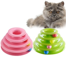 WEEKLY DEAL - Funny Pet Toys Cat Crazy Ball Disk Interactive Amusement Plate