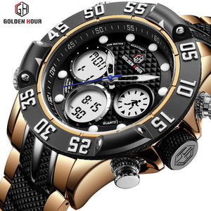 WEEKLY DEAL - GOLDENHOUR Core Military Watch