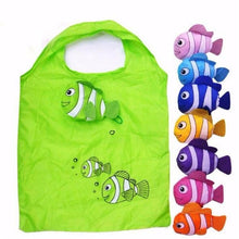 WEEKLY DEAL - Hot New 7 Colors Tropical Fish Foldable Eco Reusable Shopping Bags