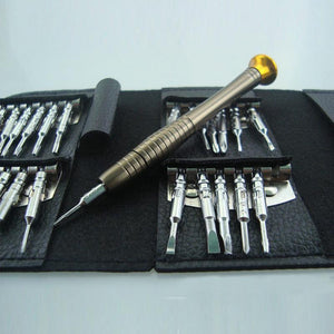 WEEKLY DEAL - 25 in 1 Precision Screwdriver Set Wallet Repair Tool Sets