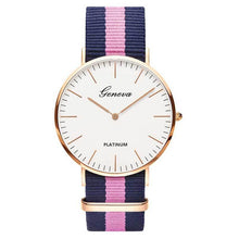 WEEKLY DEAL - GENEVA Platinum Daisy Watch
