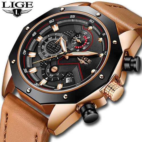 WEEKLY DEAL - LIGE Falcon Luxury Watch