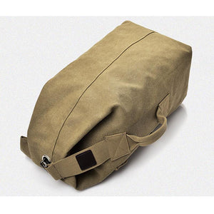 WEEKLY DEAL - Multi-functional Military Canvas Duffle Bag