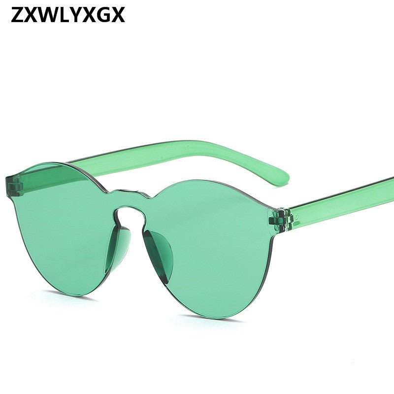 1d47c9a1d ... WEEKLY DEAL - New Fashion Rimless Vintage Round Mirror Sunglasses ...
