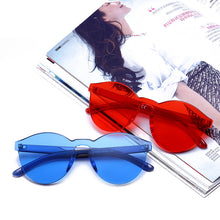 WEEKLY DEAL - New Fashion Rimless Vintage Round Mirror Sunglasses