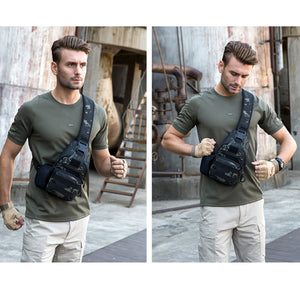 WEEKLY DEAL - Tactical Sling Pack With USB Charger