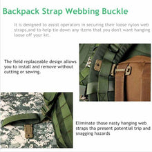 WEEKLY DEAL - Outdoor Tactical Bag Buckle Military First Aid Backpack