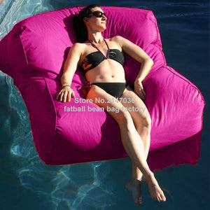 WEEKLY DEAL - Pacific Grey over-sized Pool Bean Bag