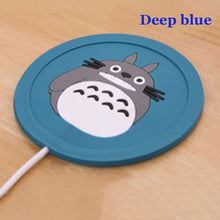 WEEKLY DEAL - USB Warmer Gadget Cartoon Silicone thin Cup-Pad