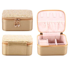 WEEKLY DEAL - Zipper Closure Ring Storage Jewelry Box