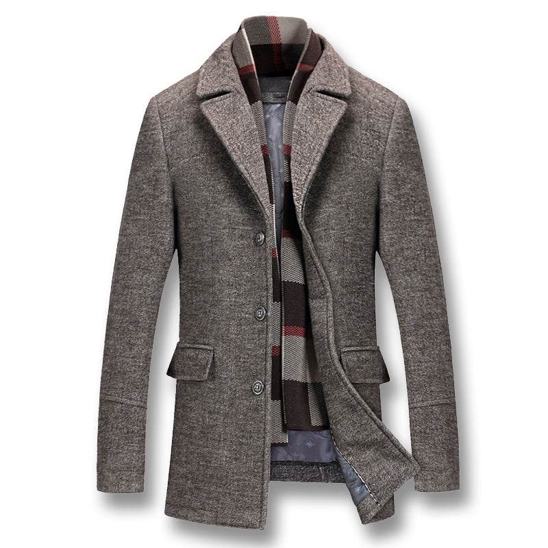 WEEKLY DEAL - Men's Calvin Wool Peacoat