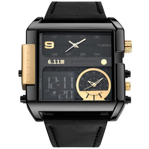 WEEKLY DEAL - Waterproof Military Men's Digital Quartz