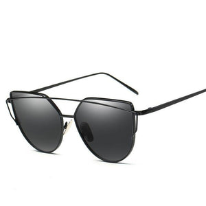 WEEKLY DEAL - EVRFELAN Vintage Cat Eye Sunglasses