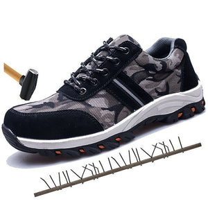 WEEKLY DEAL - Breathable Steel Toe Safety Work Shoes