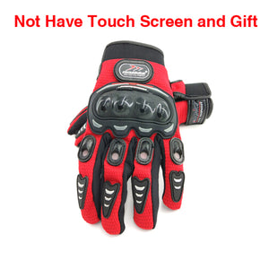 WEEKLY DEAL - New Motorcycle Gloves Touch Screen Breathable Wearable Protective Gloves