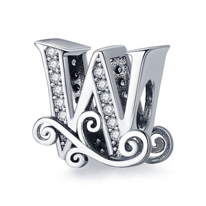 WEEKLY DEAL - Sterling Silver Letter Alphabet A Z Charm