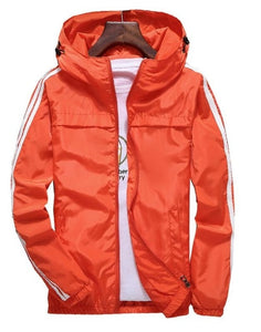 WEEKLY DEAL - Men's Light Sport Wind Breaker Jacket