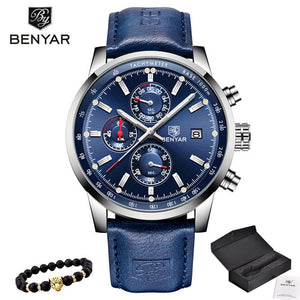 WEEKLY DEAL - BENYAR Chronograph Military Watch