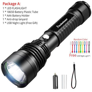 WEEKLY DEAL - Waterproof LED Tactical Flashlight