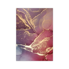 WEEKLY DEAL - Nordic Morden Abstract Pink gray line Wall Art