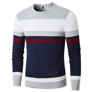 WEEKLY DEAL - Casual Striped Cotton Sweater Pullovers