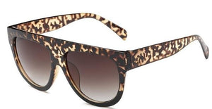WEEKLY DEAL - Italy Brand Designer Flat Top Sunglasses