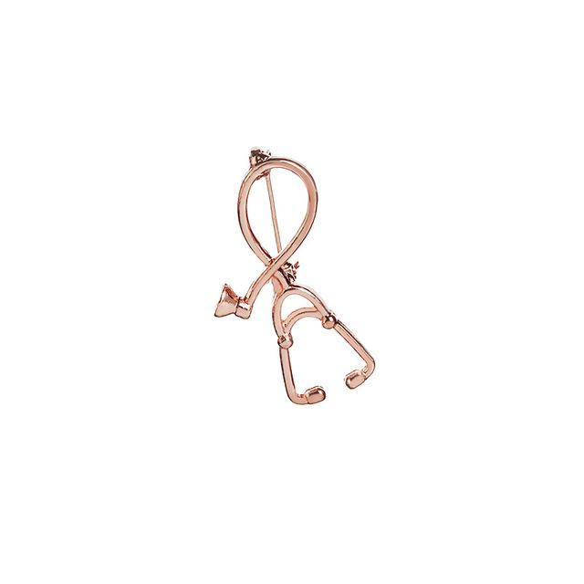 WEEKLY DEAL - Stethoscope Brooch Medical Jewelry Enamel Pin