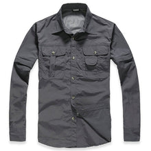 WEEKLY DEAL - TACVASEN Quick Dry Patriot Tactical Shirt