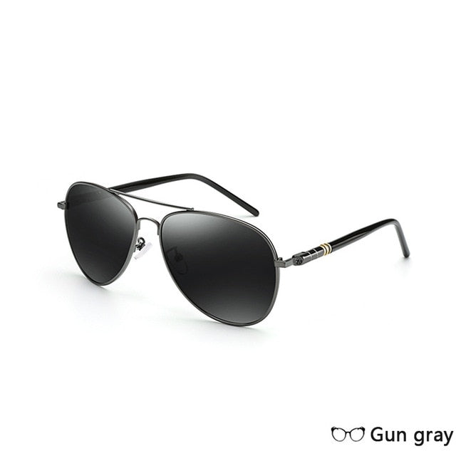 WEEKLY DEAL -SKY CAP Alloy Polarized Aviators