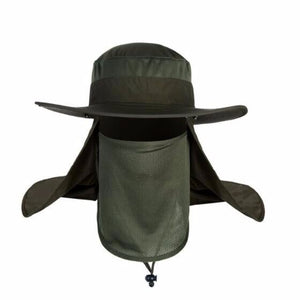 WEEKLY DEAL - Outdoor Sun Hat With Removable Face Mask