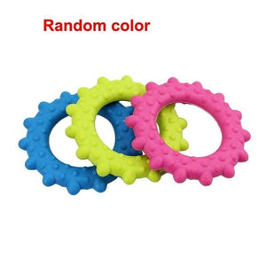 WEEKLY DEAL - Cute Rubber Resistant Bite Clean Teeth Chew Training Toy