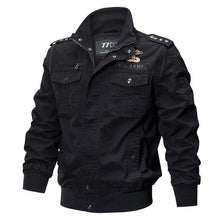 WEEKLY DEAL - REFIRE GEAR Military Canvas Bomber Jacket