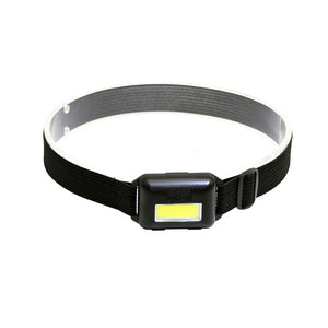 WEEKLY DEAL - Waterproof COB LED Headlamp with 4 Modes