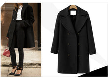 WEEKLY DEAL - Vintage Wool Double Breasted Coat