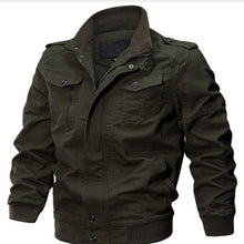 WEEKLY DEAL - Military Canvas Bomber Jacket