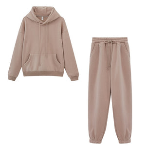 WEEKLY DEAL - Winter Fleece Hoodies Two Piece Set