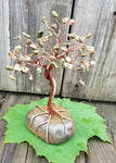 Unakite Copper Wire Tree