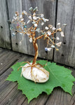 Ocean Jasper Brass Wire Tree